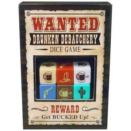 Wanted Debauchery Dice