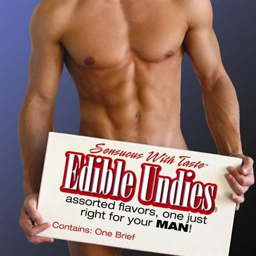 Male Edible Brief - Chocolate