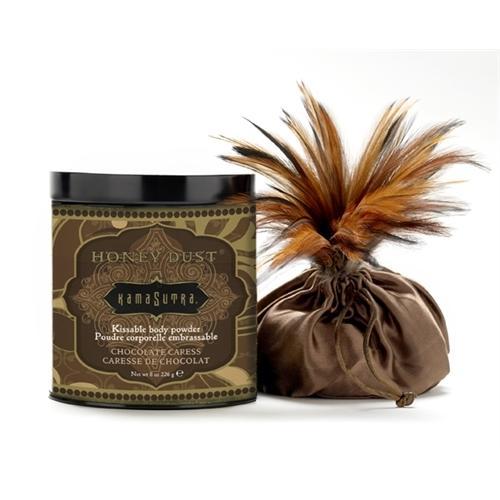 Honey Dust Body Powder -  Chocolate Caress 8 Oz