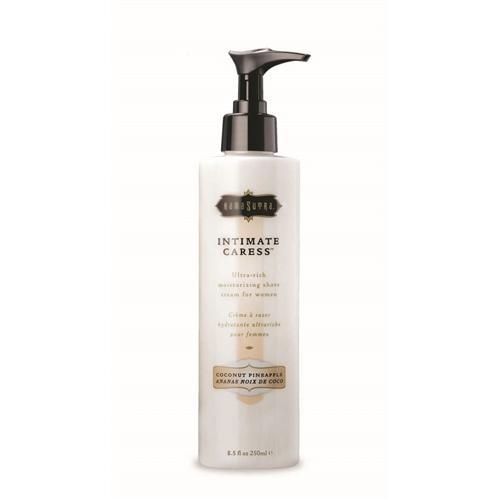 Intimate Caress Shaving Creme Coconut  Pineapple  8.5 Fl. Oz