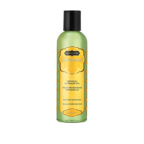 Naturals Massage Oil - Coconut Pineapple - 2 Fl Oz (59 ml)