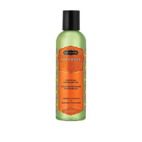 Naturals Massage Oil - Tropical Mango - 2 Fl Oz (59 ml)