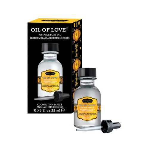 Oil of Love - Coconut Pineapple - 0.75 Fl. Oz. / 22 ml