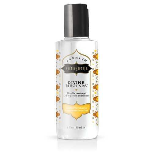 Divine Nectars Flavored Body Glide - Coconut Pineapple 5 Fl. Oz 150ml