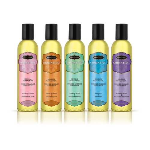 Aromatic Massage Oil Pre- Pack Display - 15 Pieces