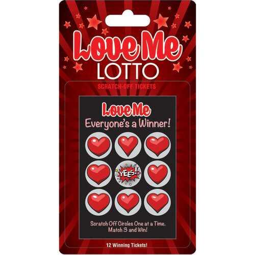 Love Me Lotto 12 Winning Tickets!