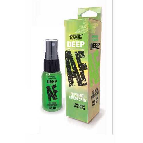 Deep Af - Spearmint Flavored Deep Throat Spray -  1 Oz