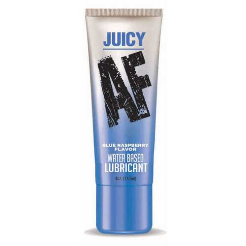 Juicy Af - Blueberry Water Based Lubricant - 4 Oz