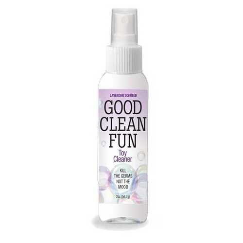 Good Clean Fun Toy Cleaner - Lavender- 2 Fl Oz
