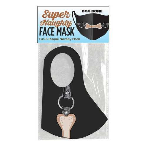Super Naughty Dog Bone Ball Gag Face Mask