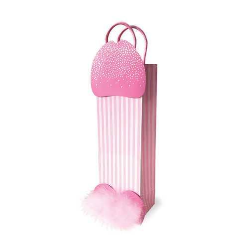 3-D Sparkling Penis Gift Bag