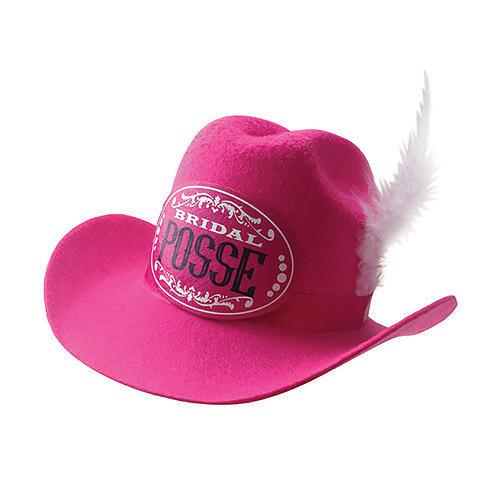 Gettin' Hitched Clip-on Cowgirl Posse Party Hat