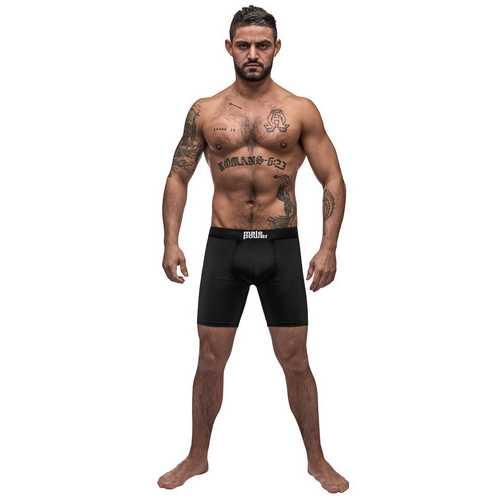 Black Nite Long Leg Short - Black - Large