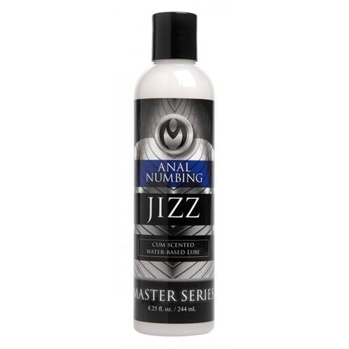 Jizz Cum Scented Anal Desensitizing Lube 8.25 Oz