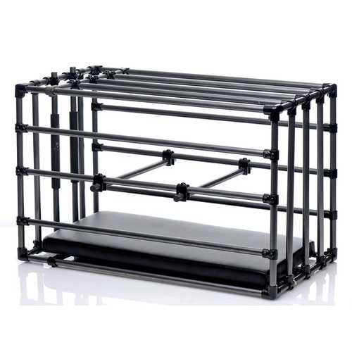 Kennel Adjustable Cage With Padded Board