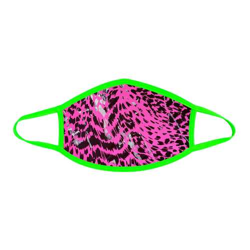 Toxic Kitty Uv Face Mask With Neon Green Trim