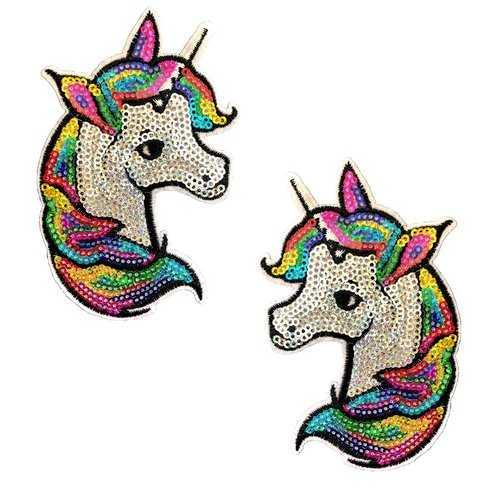 Sequin Sparkle Unicorn Nipztix Pasties