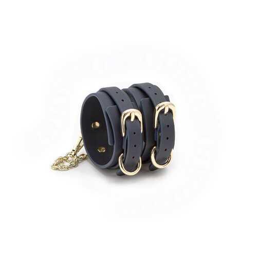 Bondage Couture - Ankle Cuffs - Blue