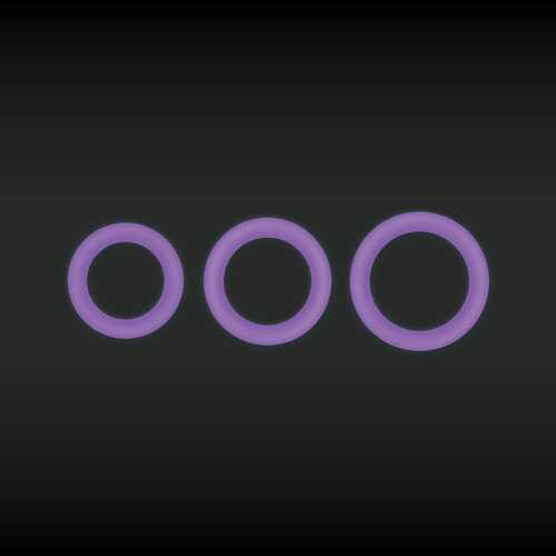 Firefly - Halo - Cockring - Medium - Purple