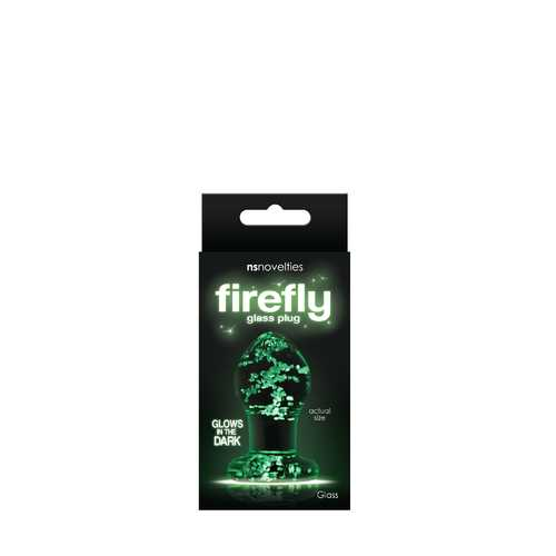 Firefly Glass - Plug - Small - Clear