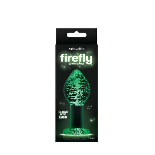 Firefly Glass - Plug - Large - Clear