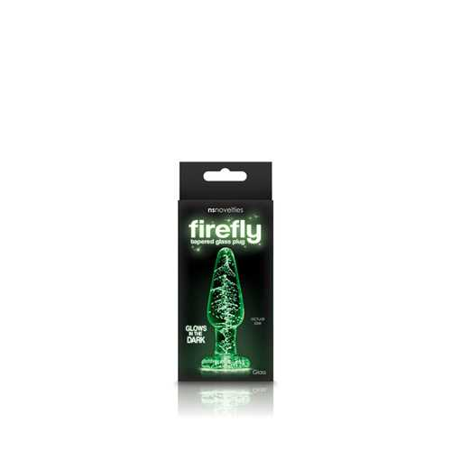 Firefly Glass - Tapered Plug - Small - Clear