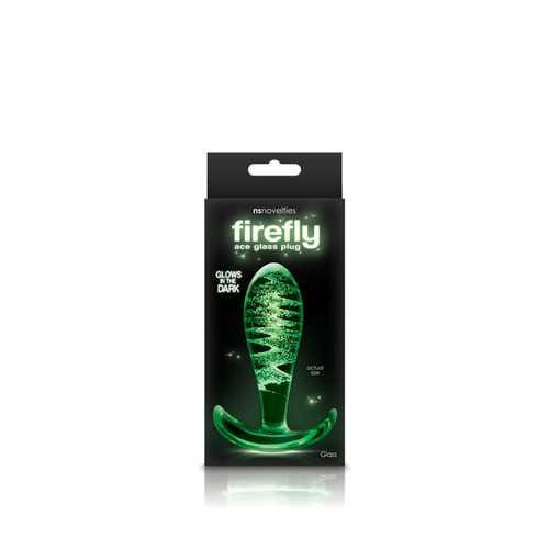 Firefly Glass - Ace Glass Plug - Clear