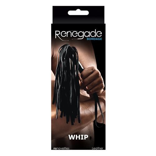 Renegade Bondage Whip - Black