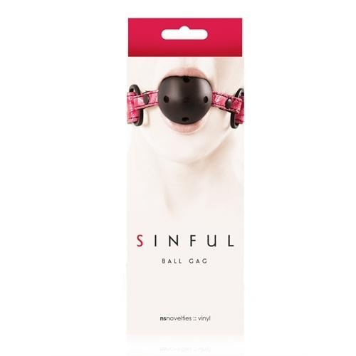 Sinful Ball Gag - Pink