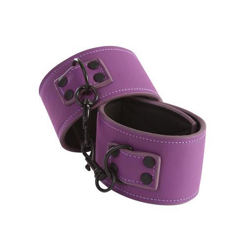 Lust Bondage Ankle Cuff - Purple