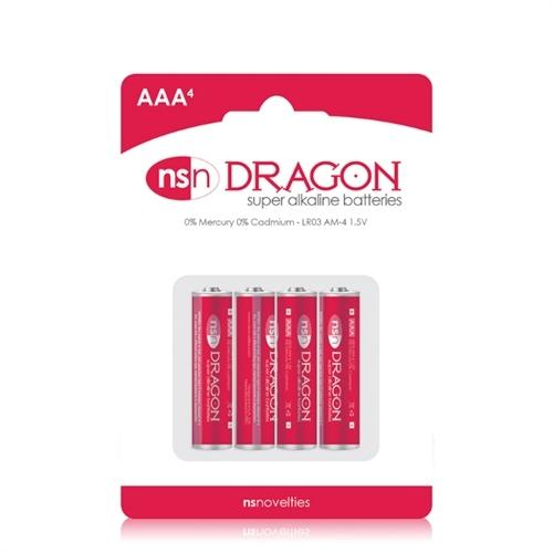 Dragon - Alkaline Batteries - AAA - 4 Pack
