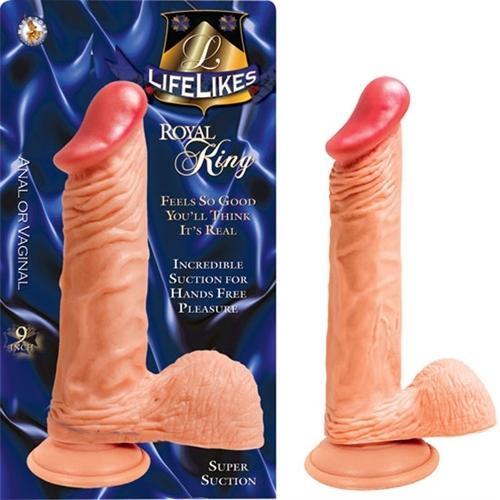 "Lifelike Flesh Royal King 9"""