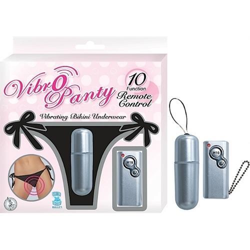 Vibro Panty Remote Control -Black