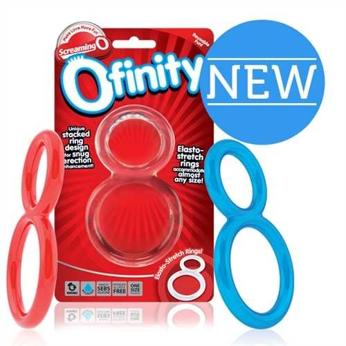 Ofinity Double Ring - 6 Count Box - Assorted