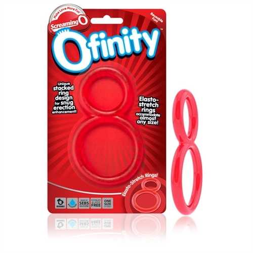 Ofinity Double Ring - Red