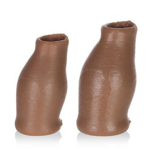 Hood Moreskin Silicone Faux Foreskin - Medium Tone - Medium/large