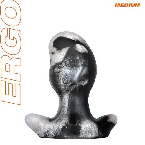 Ergo Butt Plug - Medium - Platinum Swirl