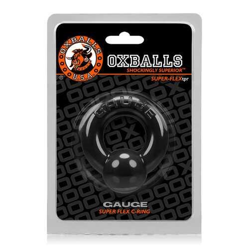 Oxballs Gauge Cockring - Black