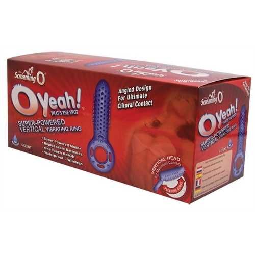 O Yeah! - 6 Count Box - Assorted Colors