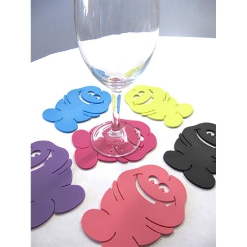 Bachelorette Pecker Coasters - 6 Pack