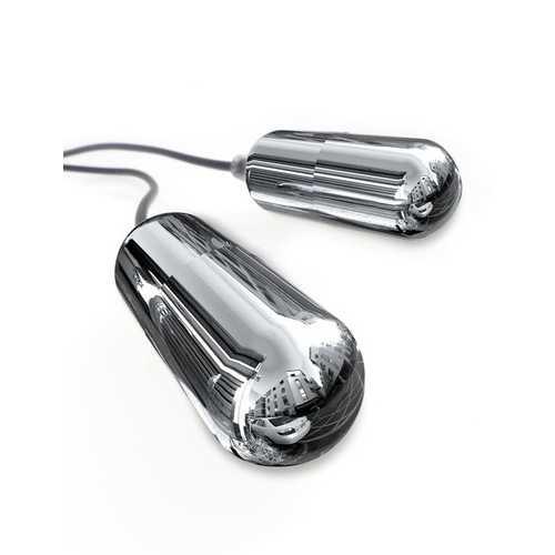 Classix Dual Vibrating Ball Teaser - Black/smoke