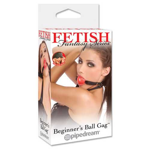 Fetish Fantasy Ball Gag - Red