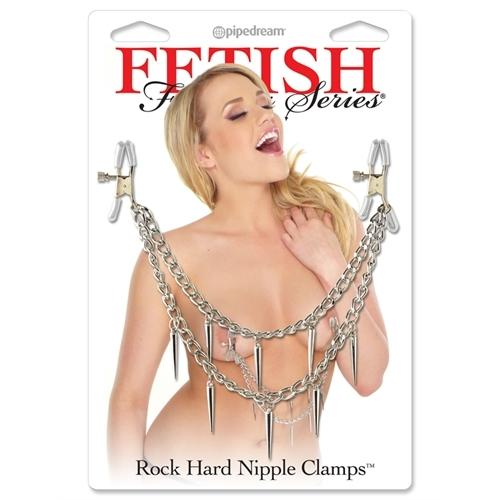 Fetish Fantasy Series Rock Hard Nipple Clamps