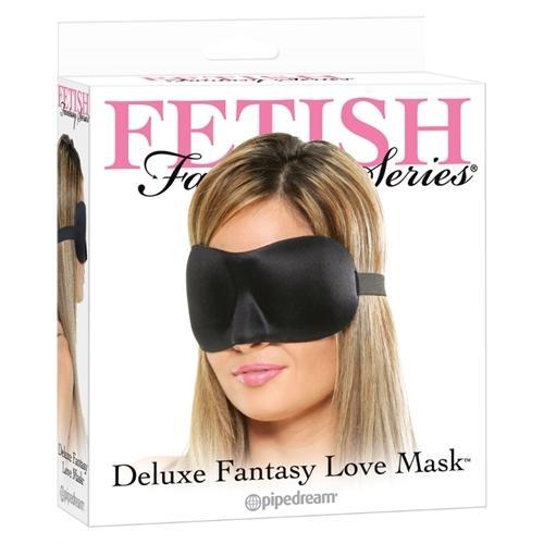 Fetish Fantasy Series Deluxe Fantasy Love Mask - Black