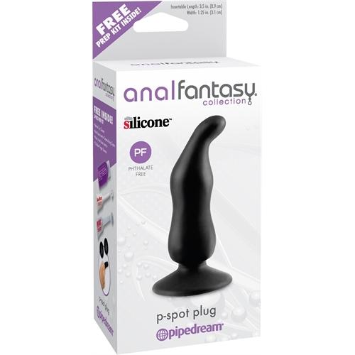 Anal Fantasy Collection P-Spot Plug - Black