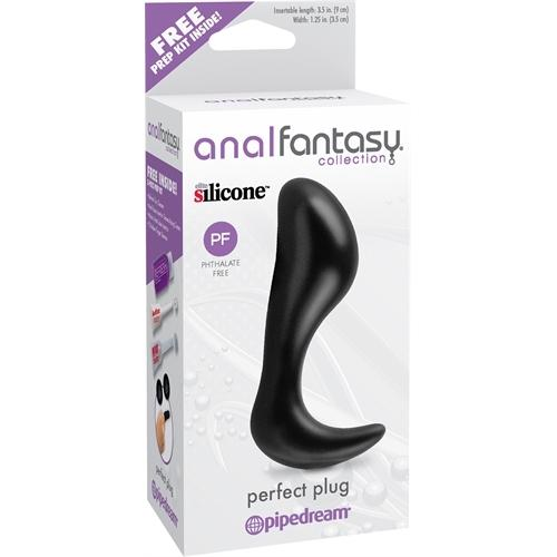 Anal Fantasy Collection Perfect Plug - Black