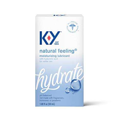 K-Y Natural Feeling Lube With Hyaluronic Acid -  1.69  Fl Oz / 50 ml