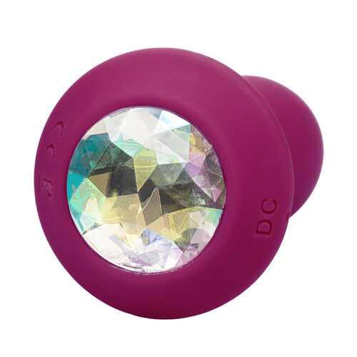 Power Gem Vibrating Petite Crystal Probe - Purple