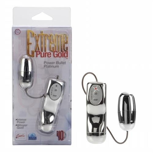 Extreme Pure Gold Power Bullet - Silver