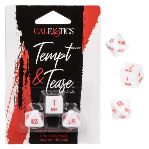 Tempt and Tease Dice